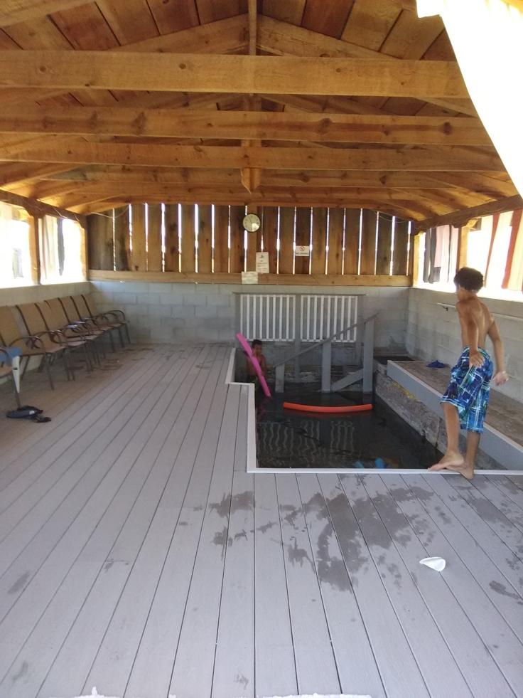lapaolma hot springs pool long pool